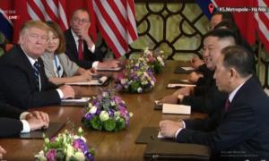 Kim - Trump trả lời báo chí sau cuộc họp