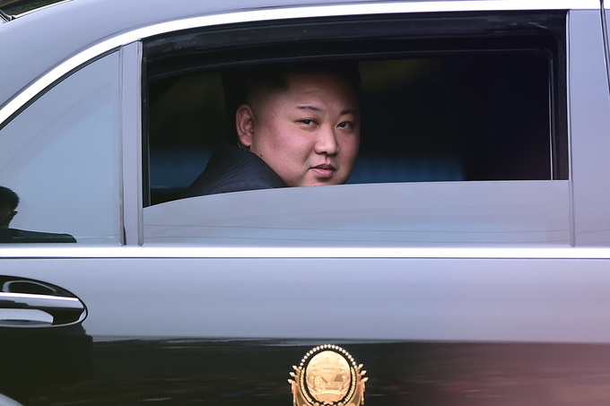Những khoảnh khắc bên lề của lãnh đạo Mỹ - Triều tại Hà Nội