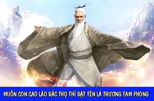 Trương Tam Phong người sáng tạo ra Thái cực quyền là cao thủ võ lâm tiếp theo được tư vấn.