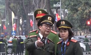 An ninh thắt chặt tại nơi tổ chức tiệc chiêu đãi Chủ tịch Triều Tiên