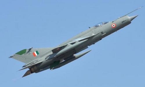 Tiêm kích MiG-21 Ấn Độ. Ảnh: NDTV.