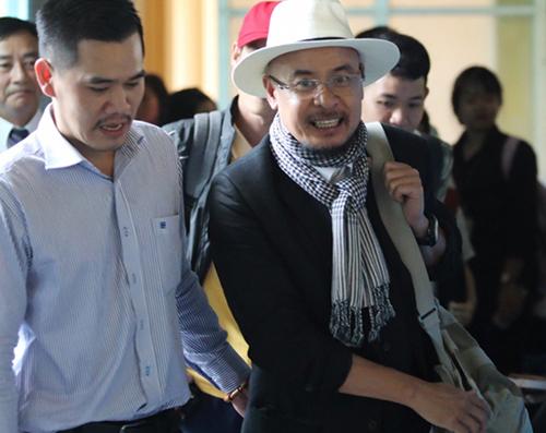 Ông Vũ sau phiên tòa. Ảnh: Thành Nguyễn.