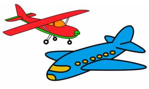 Cách vẽ hai loại máy bay dành cho trẻ