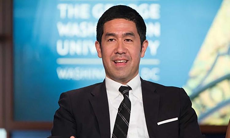 Phóng viên David Nakamura. Ảnh:  George Washington University.
