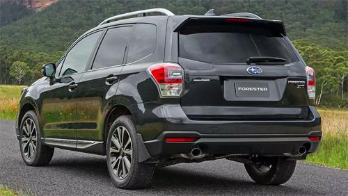 Subaru Forester đời2008-2017 thuộc diện triệu hồi.