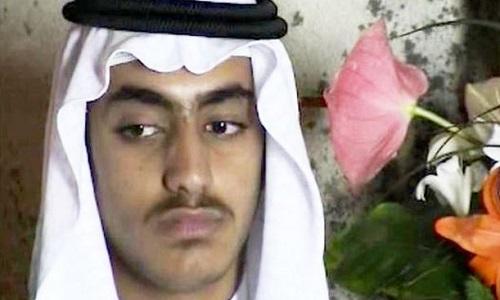 Hamza bin Laden. Ảnh: CIA.