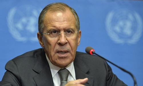 Ngoại trưởng Nga Sergei Lavrov. Ảnh: Sputnik.