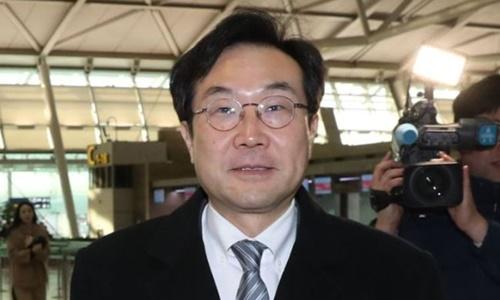 Phái viên Hàn Quốc Lee Do-hoon. Ảnh: Korea Herald.