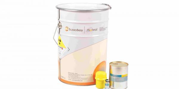 Dung dịch I-131 gắn MIBG. Ảnh:Pharmatopes.