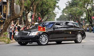 Những mẫu xế khủng phục vụ Trump - Kim khi ở Việt Nam
