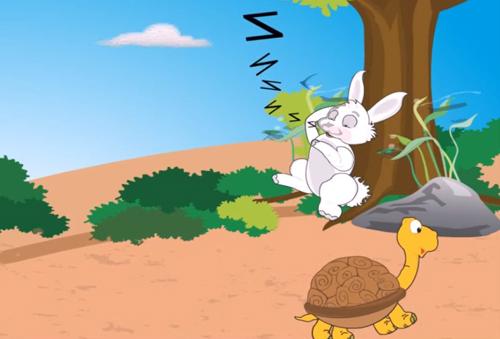 Bài toán rùa và thỏ chạy thi trong đề APMOPS 2017