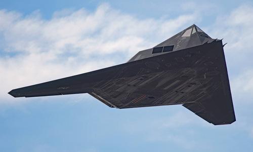 Máy bay tàng hình F-117 bay thử tại Mỹ năm 2016. Ảnh: Scramble.
