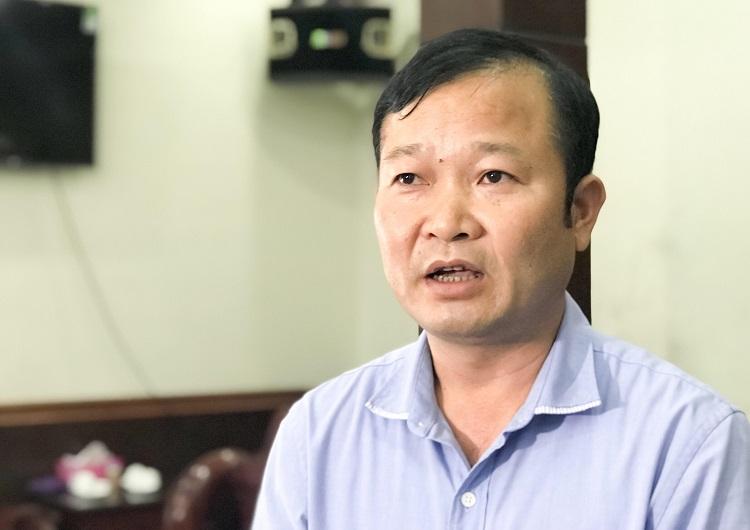 Ông Nguyễn Đại Lượng, Phó chủ tịch huyện Việt Yên. Ảnh: Dương Tâm