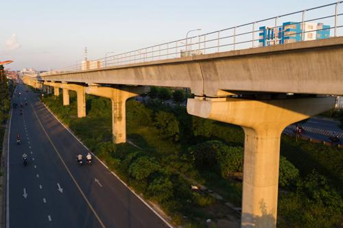Tuyến Metro đầu tiên của TP HCM  (Bến Thành - Suối Tiên)dự kiến sẽ hoàn thành vào cuối năm 2020. Ảnh: Hữu Khoa