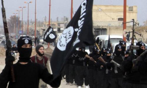 Các phiến quân IS ở Syria. Ảnh: BBC.