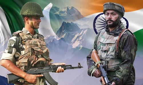 Tương quan sức mạnh quân sự giữa Ấn Độ và Pakistan. Bấm vào ảnh để xem chi tiết.