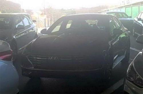 Hình ảnh được cho là Hyundai Sonata thế hệ mới. Ảnh: Rushlane