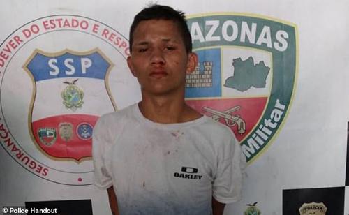 Tên Da Silva đã bị cảnh sát bắt giữ.