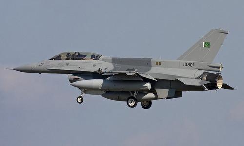 Tiêm kích F-16 Pakistan trong một đợt huấn luyện. Ảnh: PAF.