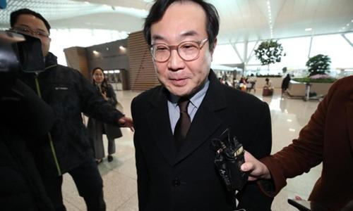 Phái viên Hàn Quốc Lee Do-hoon. Ảnh: Yonhap.