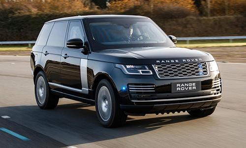 Range Rover Sentinel chống đạn phiên bản 2019 sử dụng động cơ V8. Ảnh: Range Rover