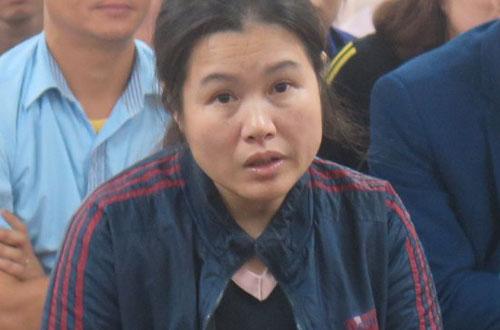 Bị cáo Toan tại phiên tòa sơ thẩm.