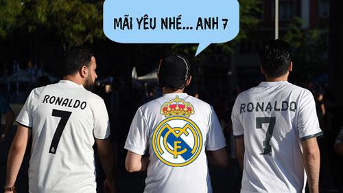 Real không thế thiếu Ronaldo.