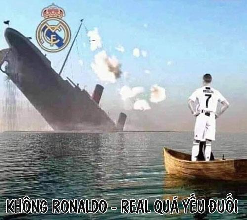 Không Ronaldo, Real trở nên quá mong manh.