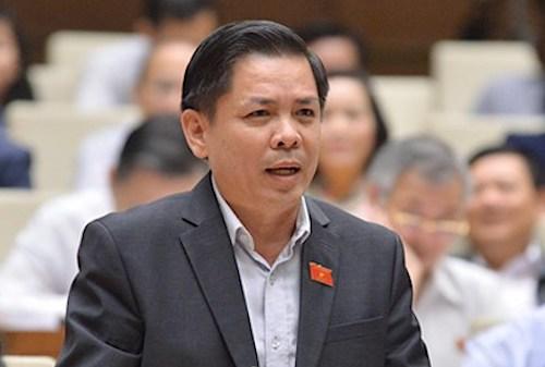 Bộ trưởng Nguyễn Văn Thể. Ảnh: Hoàng Phong