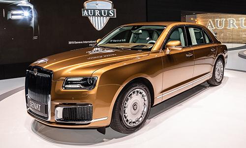 Aurus Senat - Rolls-Royce của Nga trình làng ở Geneva