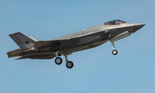 Tiêm kích F-35A đầu tiên của Thổ Nhĩ Kỳ bay thử tại Mỹ năm 2018. Ảnh: Lockheed Martin.