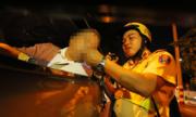 Kiá»m tra tài xế dùng ma túy - không thá» phó mặc cảnh sát giao thông