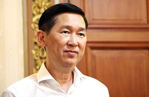 Phó chủ tịch TP HCM Trần Vĩnh Tuyến. Ảnh: PV