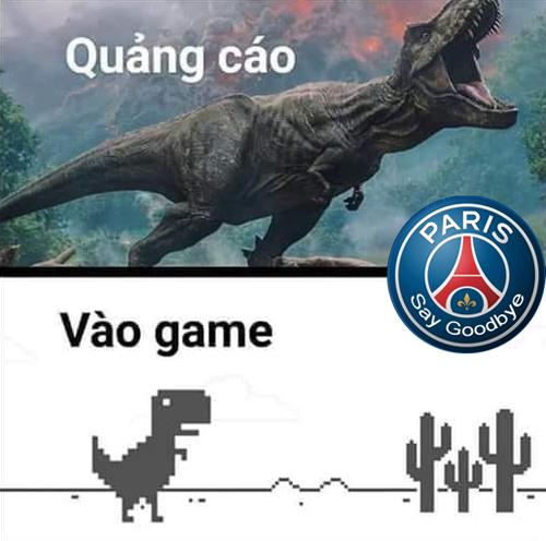Sự hổ báo của PSG nhanh chóng phải trả giá sau bàn thua ở phút thứ 2.