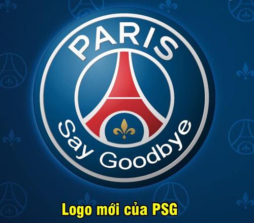 Logo mới của đội bóng thủ đô nước Pháp.