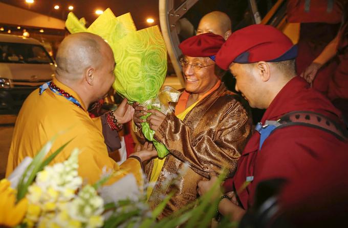 Đức Gyalwang Drukpa đến TP HCM