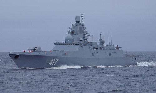 Tàu hộ vệ Đô đốc Gorshkov. Ảnh: Navy Recognition.