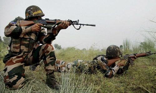 Quân đội Ấn Độ ở khu vực biên giới. Ảnh: Times of India.