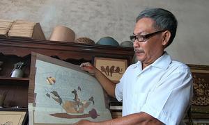 Tranh ghép gỗ chìm giá nghìn đô của nghệ nhân Việt