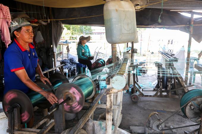 Xóm người miền Tây làm nghề kéo dây thừng ở Sài Gòn
