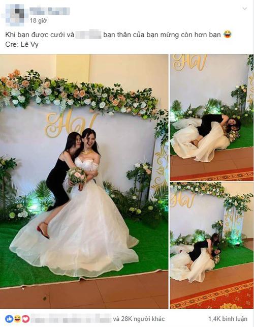 Chia sẻ của cô dâu đã thu hút được rất nhiều sự quan tâm.