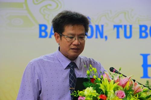 Ông Phan Thanh Hải, Tân Giám đốc Sở Văn hóa, Thể thao tỉnh Thừa Thiên Huế. Ảnh: Võ Thạnh