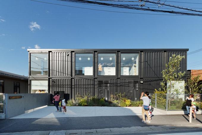Trường mẫu giáo làm bằng container để chống động đất