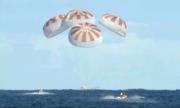 Tàu Dragon của SpaceX trở về Trái Đất sau 7 ngày trên vũ trụ