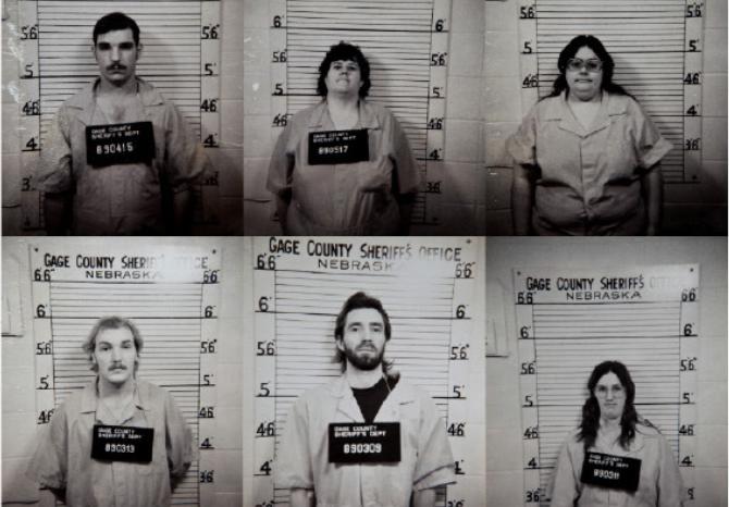 Nhóm Beatrice Sáu ở vào độ tuổi 20-30 khi bị bắt. Ảnh: Omaha.