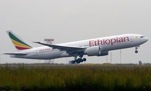 Một máy bay của hãng hàng không Ethiopian Airlines. Ảnh: Airlines