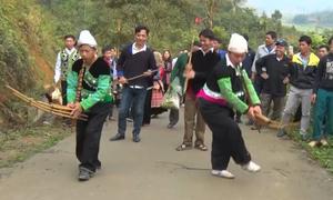 Lễ hội Tết rừng của người Mông ở Yên Bái