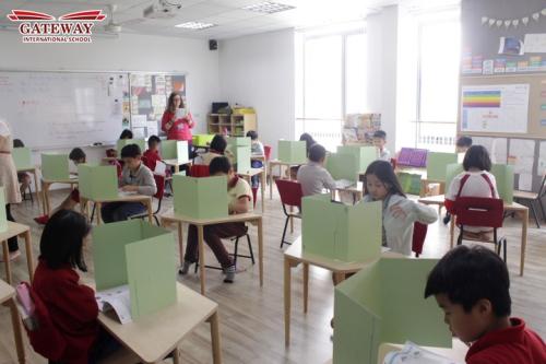 Trường quốc tế Gateway đánh giá trình độ tiếng Anh của học sinh bằng IOWA TEST  - 1