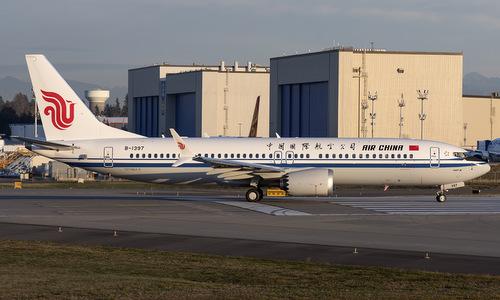 Máy bay Boeing 737 MAX 8 của hãng hàng không Trung Quốc Air China. Ảnh: Airliners.