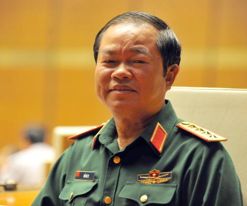 Đại tướng Đỗ Bá Tỵ, Phó chủ tịch Quốc hội. Ảnh: Giang Huy